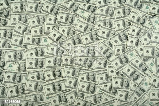 istock $100 bills background 182166068