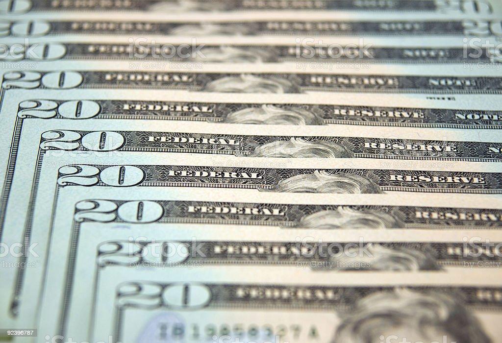 Bills royalty-free stock photo