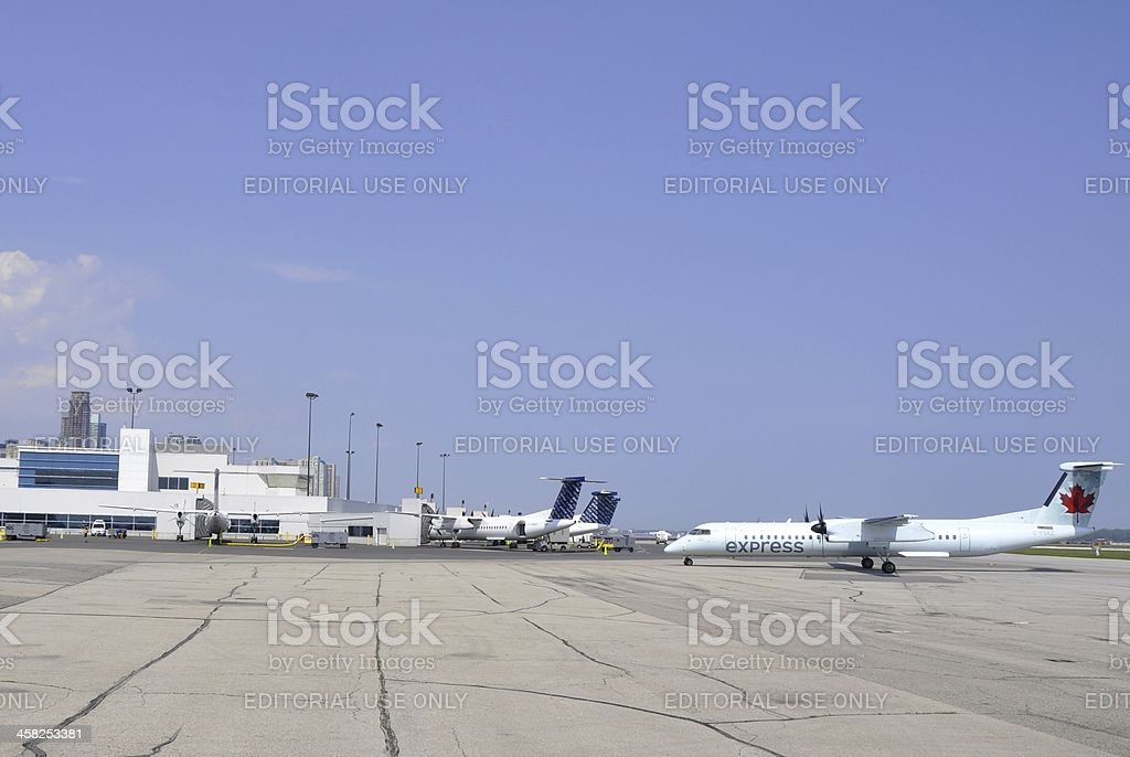 Billy Bishop Airport royalty-free stock photo