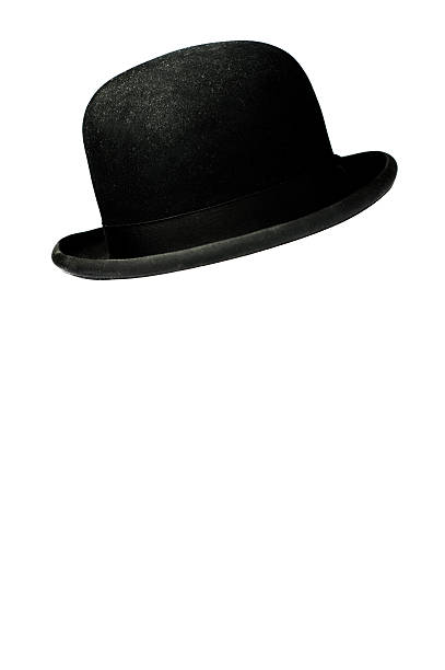 Billycock, Bowler's Hat, Derby, Doiby stock photo