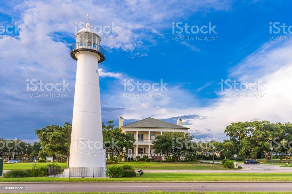 Biloxi Mississippi Usa At Biloxi Lighthouse Stock Photo Download Image Now Istock
