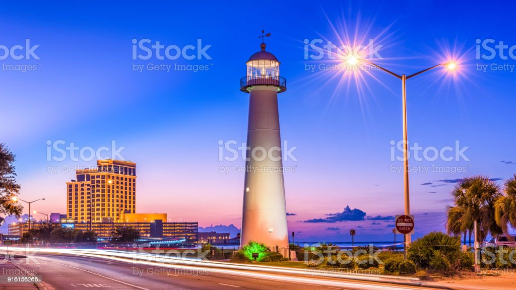 Biloxi, Mississippi, USA stock photo