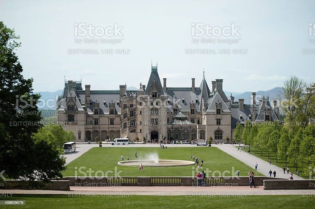 Biltmore House stock photo
