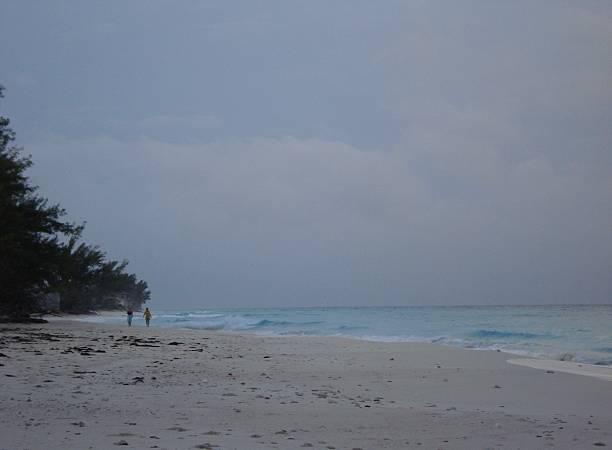 Bimini Beach Stroll stock photo