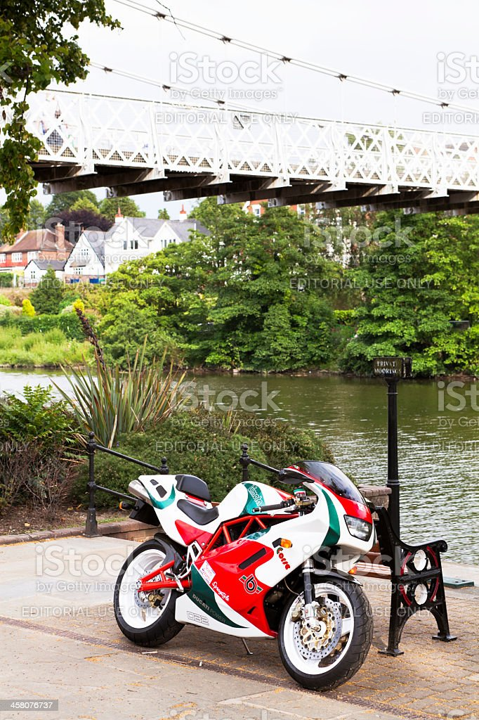 Bimota DB2 Motorcycle royalty-free stock photo