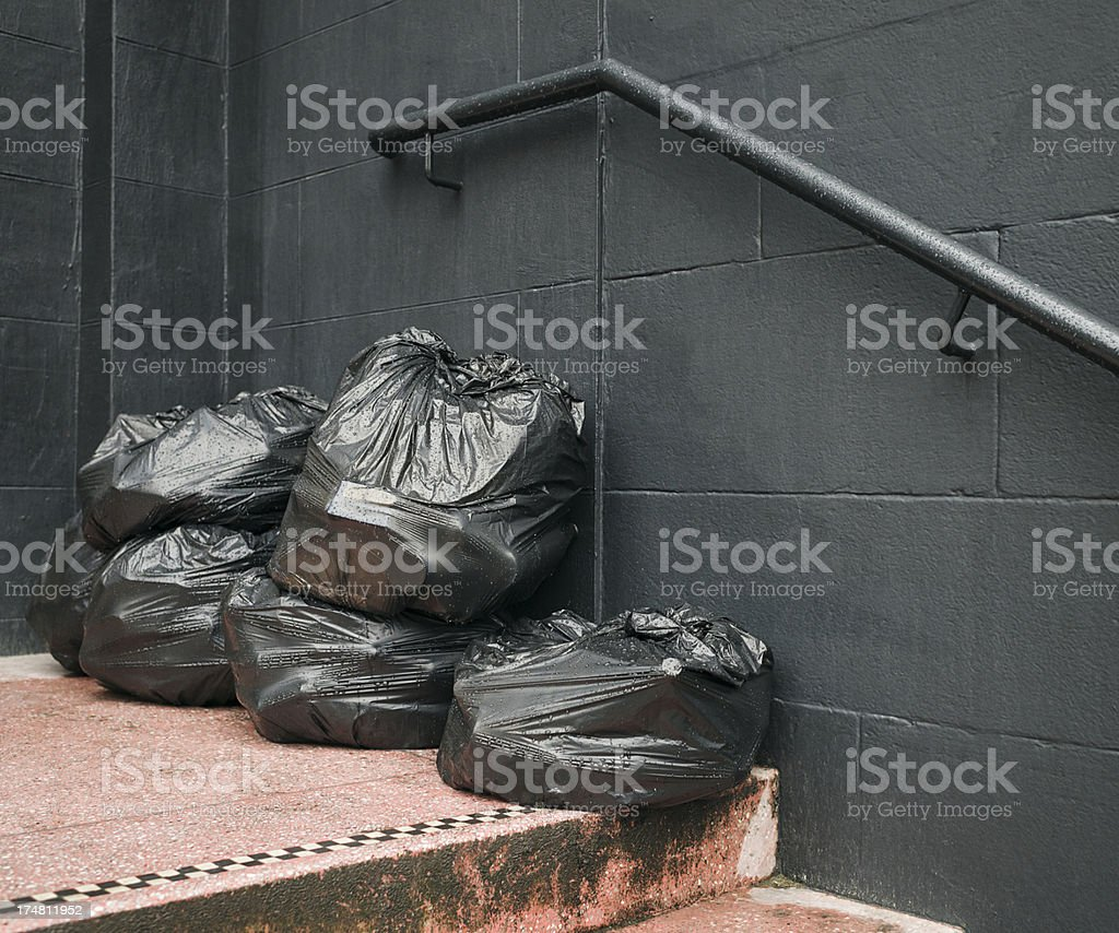 Bin Bags for Collection royalty-free stock photo