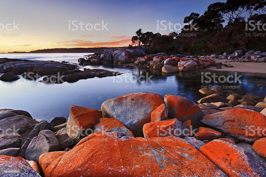 Binalong Red Rocks top stock photo