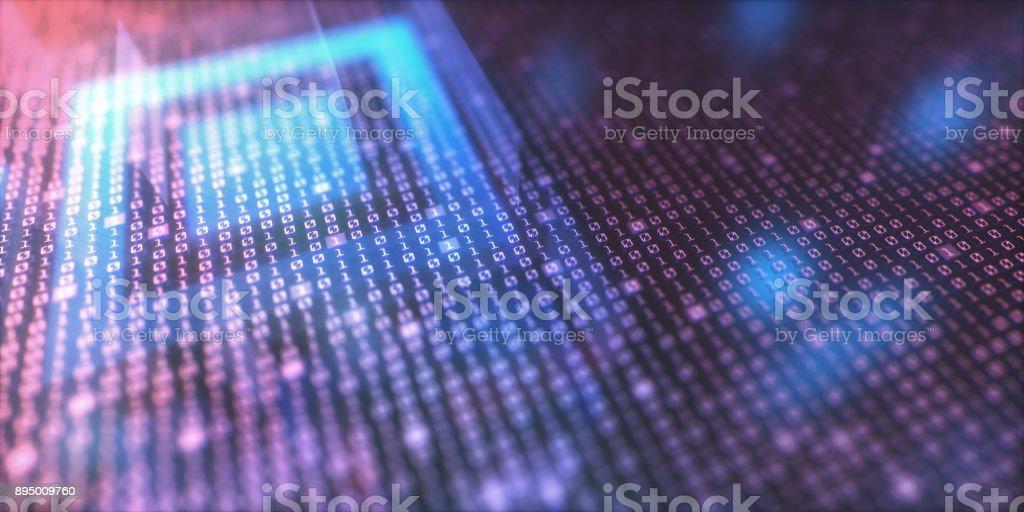 Binäre und schnelle Response-Code – Foto