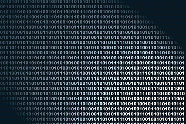 binary background - horse bit stock photos and pictures