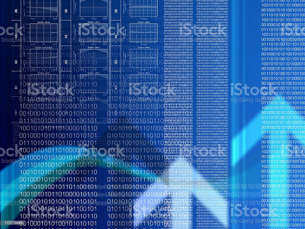 binary business stock photo