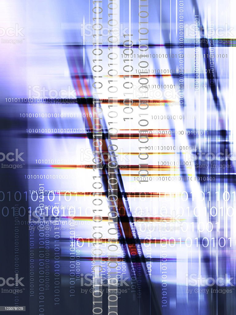 binary code backdrop royalty-free stock photo