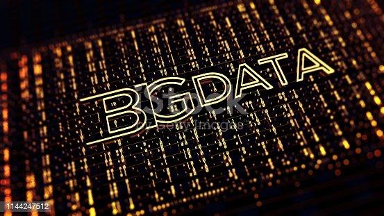 istock Binary code  background 1144247512