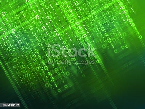 istock Binary code background 595345496