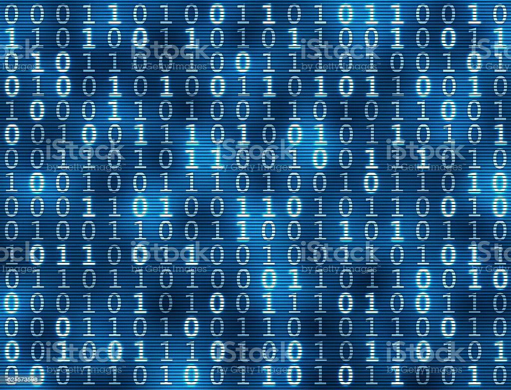 Fond de code binaire  photo libre de droits