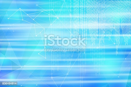 882222132 istock photo Binary code hitech background 836464814