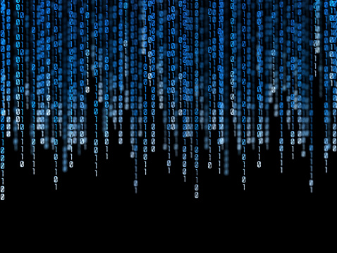 Binary Code Stock Photo - Download Image Now