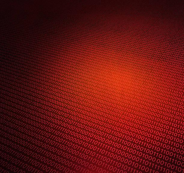 código binário - vr red background imagens e fotografias de stock