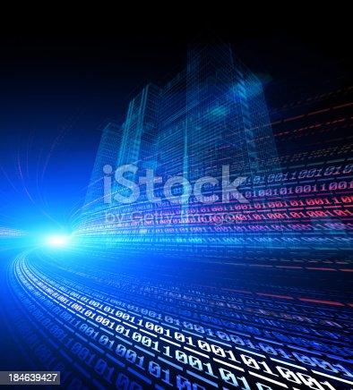 istock binary code 184639427