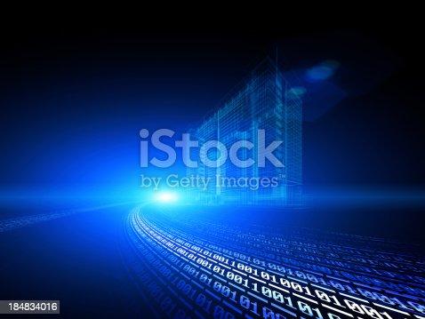 istock binary code 184834016