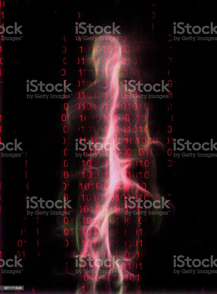 İkili kod stok fotoğrafı