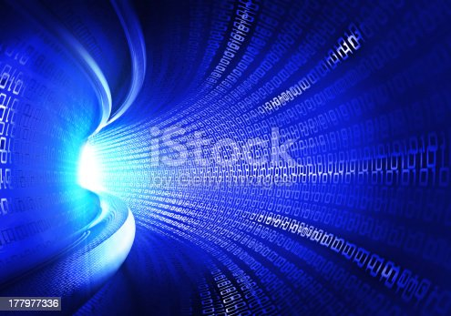 184343107 istock photo Binary Code Tunnel 177977336