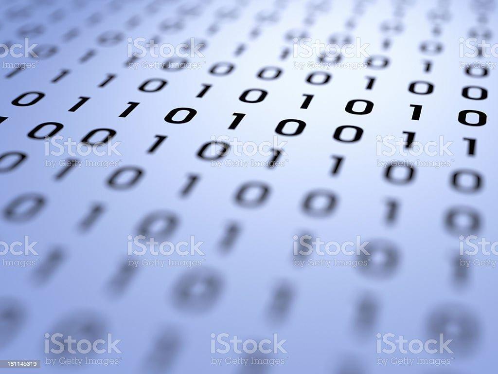 Binary Code XL+ royalty-free stock photo