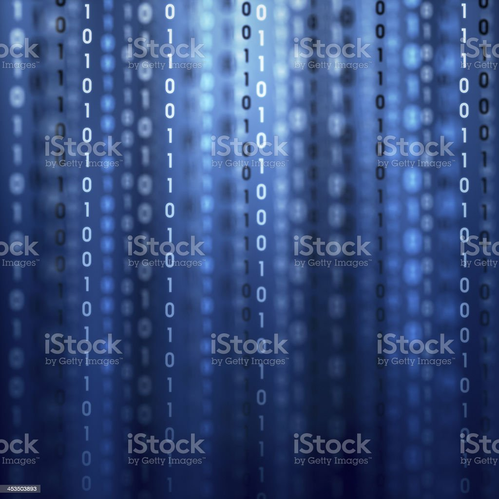 Binary Code XL+ royalty-free stock photo