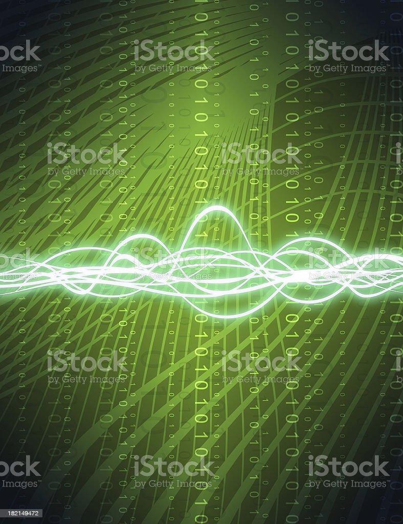 binary energy royalty-free stock photo