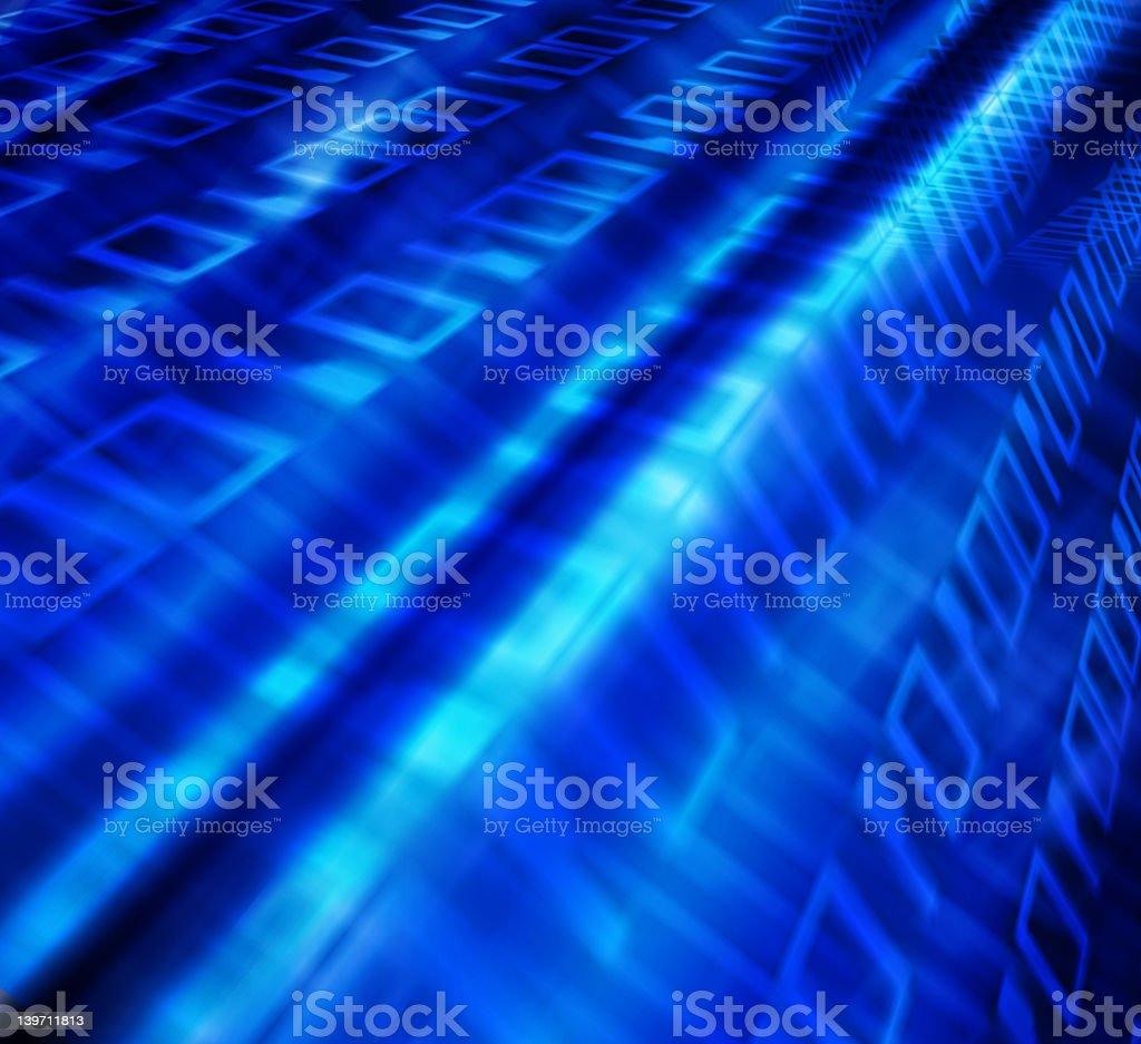Binary flow royalty-free stock photo