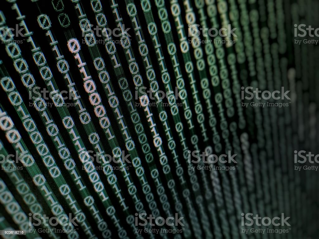 Peachy Binary Text Coding Background Moving Vertically On Dark Blue Green Wiring Cloud Intapioscosaoduqqnet