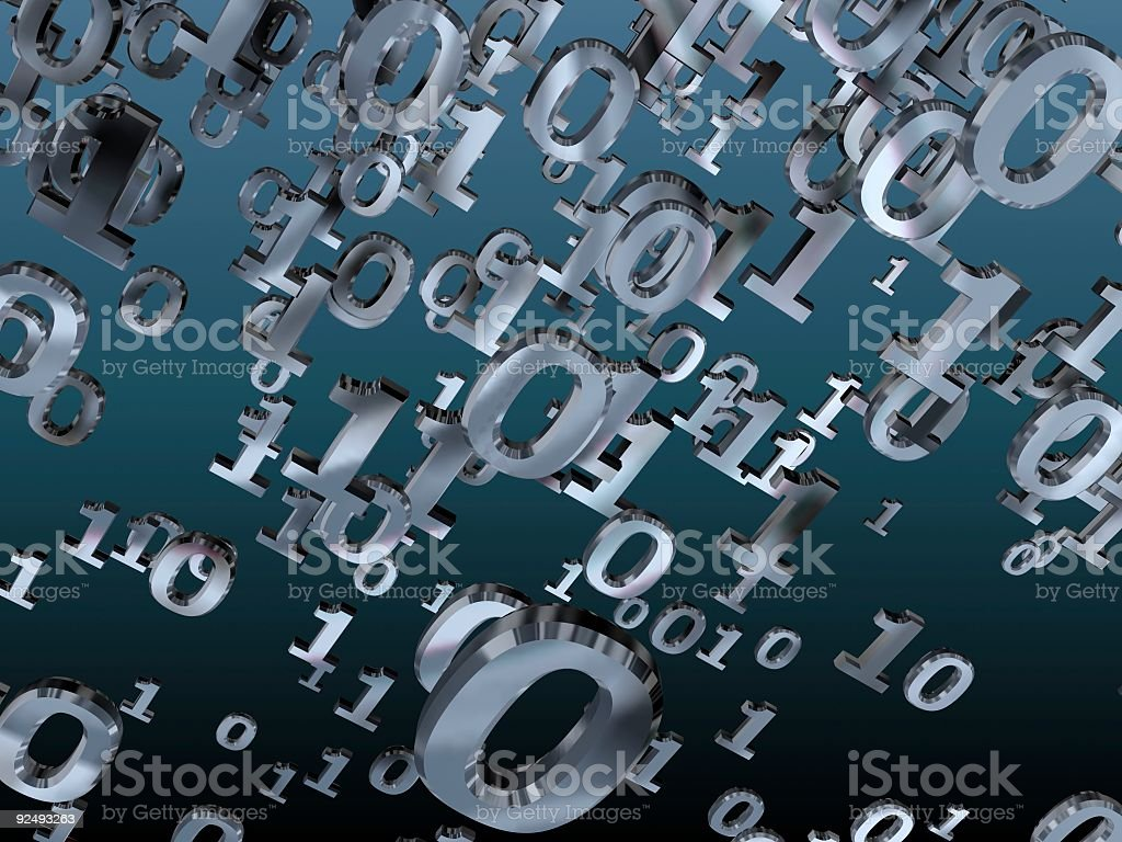 Binary Vortex royalty-free stock photo