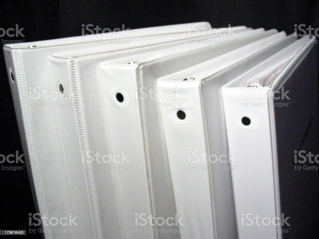 Binders 4 royalty-free stock photo