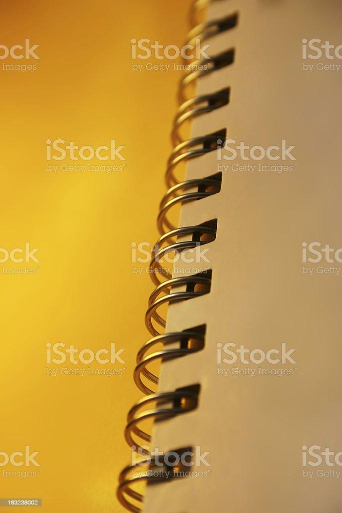 Binding on Report royalty-free stock photo