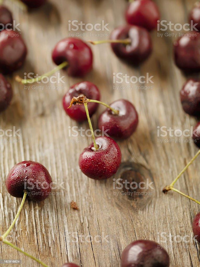 Bing Cherries stock photo