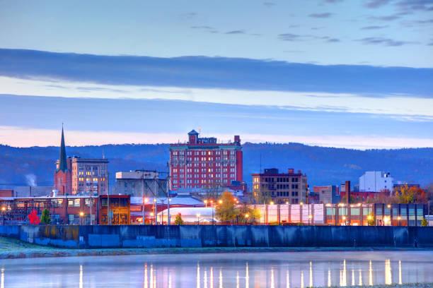 Binghamton Skyline stock photo
