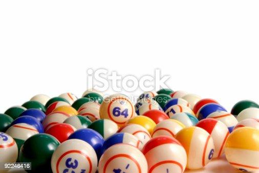 istock Bingo balls 7 92246416
