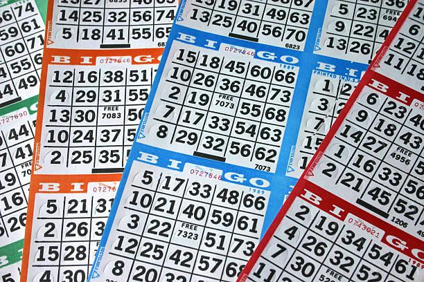 Bingo Cards of Different Colors圖像檔