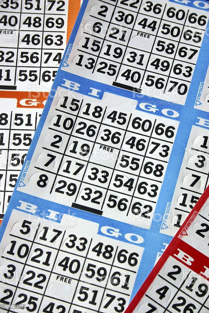 Cartões de Bingo - foto de acervo