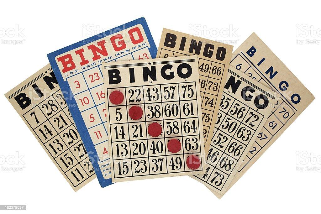 Bingo Cards royalty-free stock photo