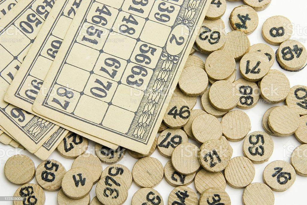 Bingo royalty-free stock photo
