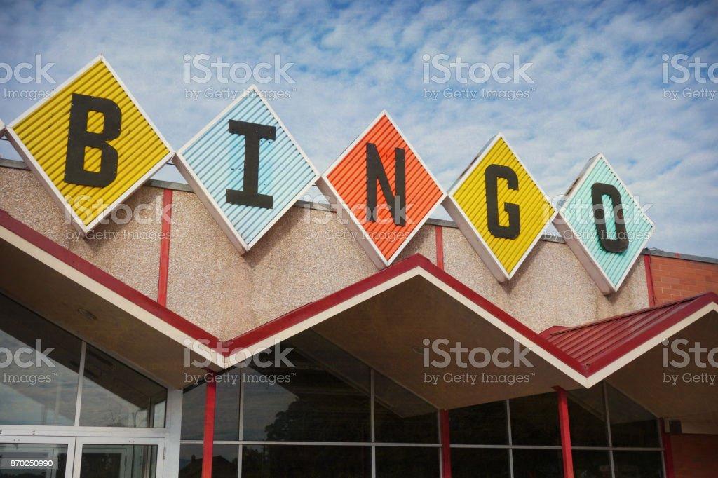 Placa de bingo - foto de acervo