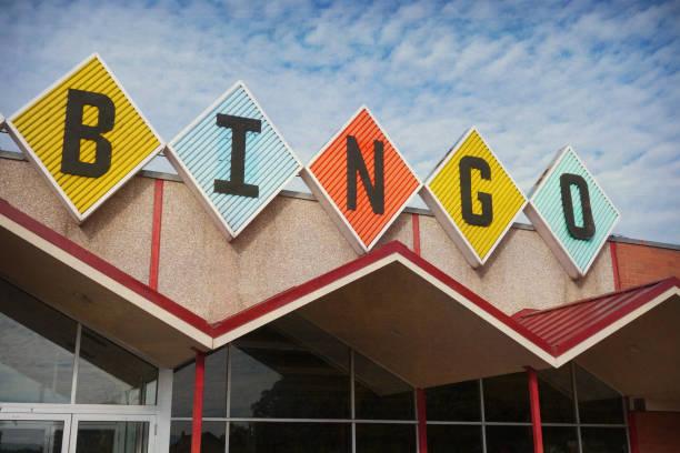 bingo sign stock photo