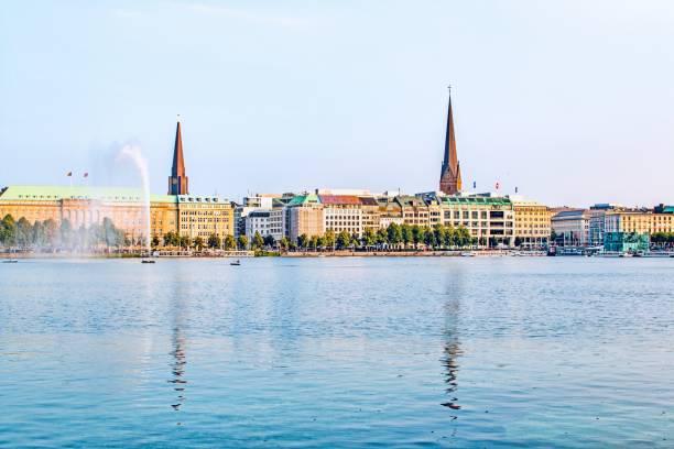 Binnenalster Hamburg – Foto