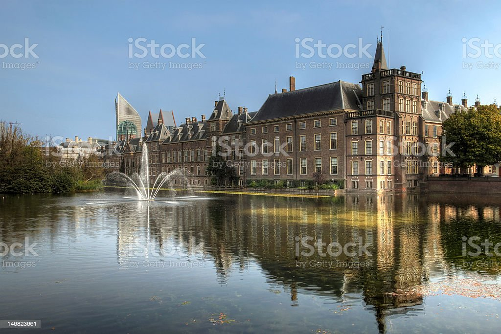 Binnenhof, Den Haag, The Netherlands stock photo