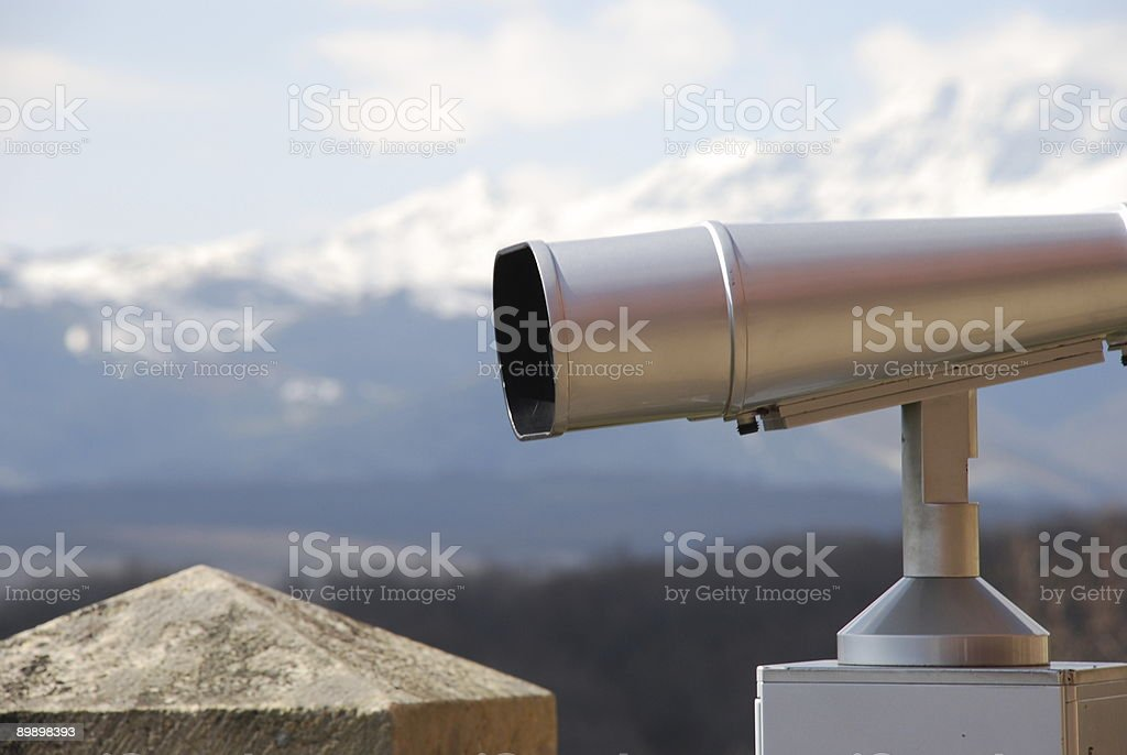 Vista binoculare 04 foto stock royalty-free