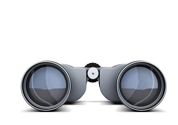 Gros jumelles seul sur blanc backgroundñ Ž Représentation en 3D - Photo