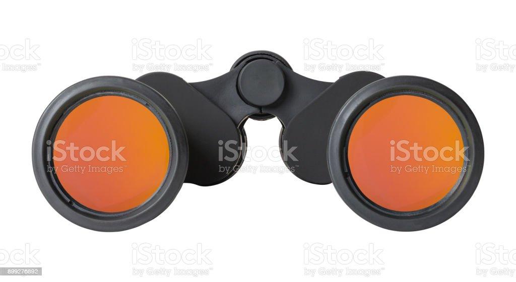 Binoculars Front stock photo
