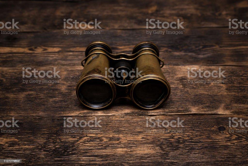 Binoculars. stock photo