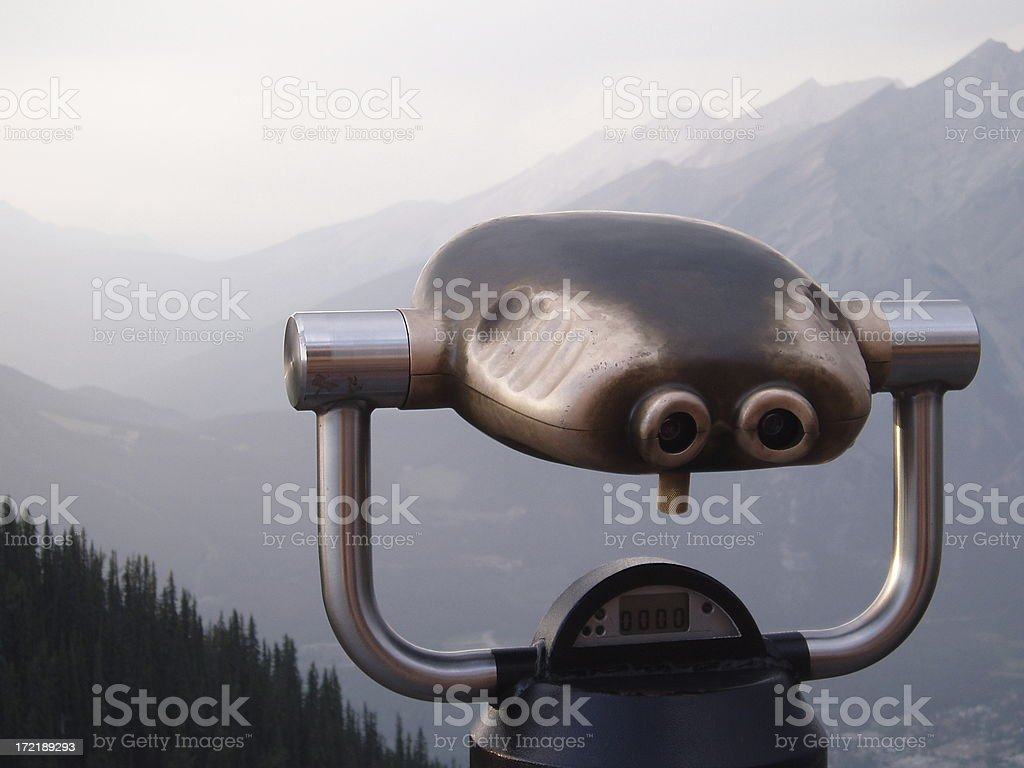 Binoculars (coin operated) royalty-free stock photo
