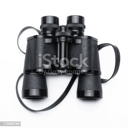 Binoculars on white background with soft shadow.Please see some similar pictures from my portfolio: